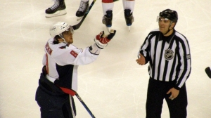 NHL will have referees flip a coin at centre ice to decide goal tender interference and contested offsides