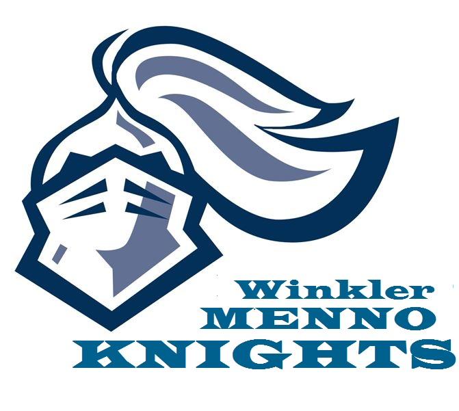 Logo of Junior Hockey Team Winkler Menno Knights